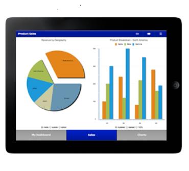 WASI Dashboard Mobile on iPad