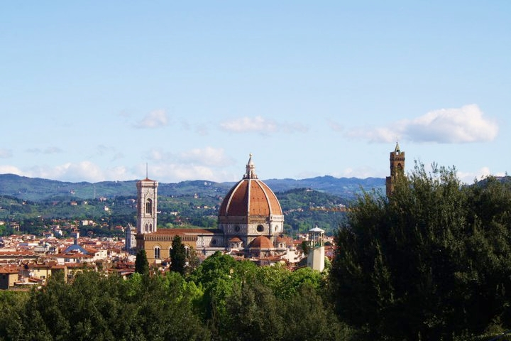 A shot I took overlooking Florence my junior year of college!