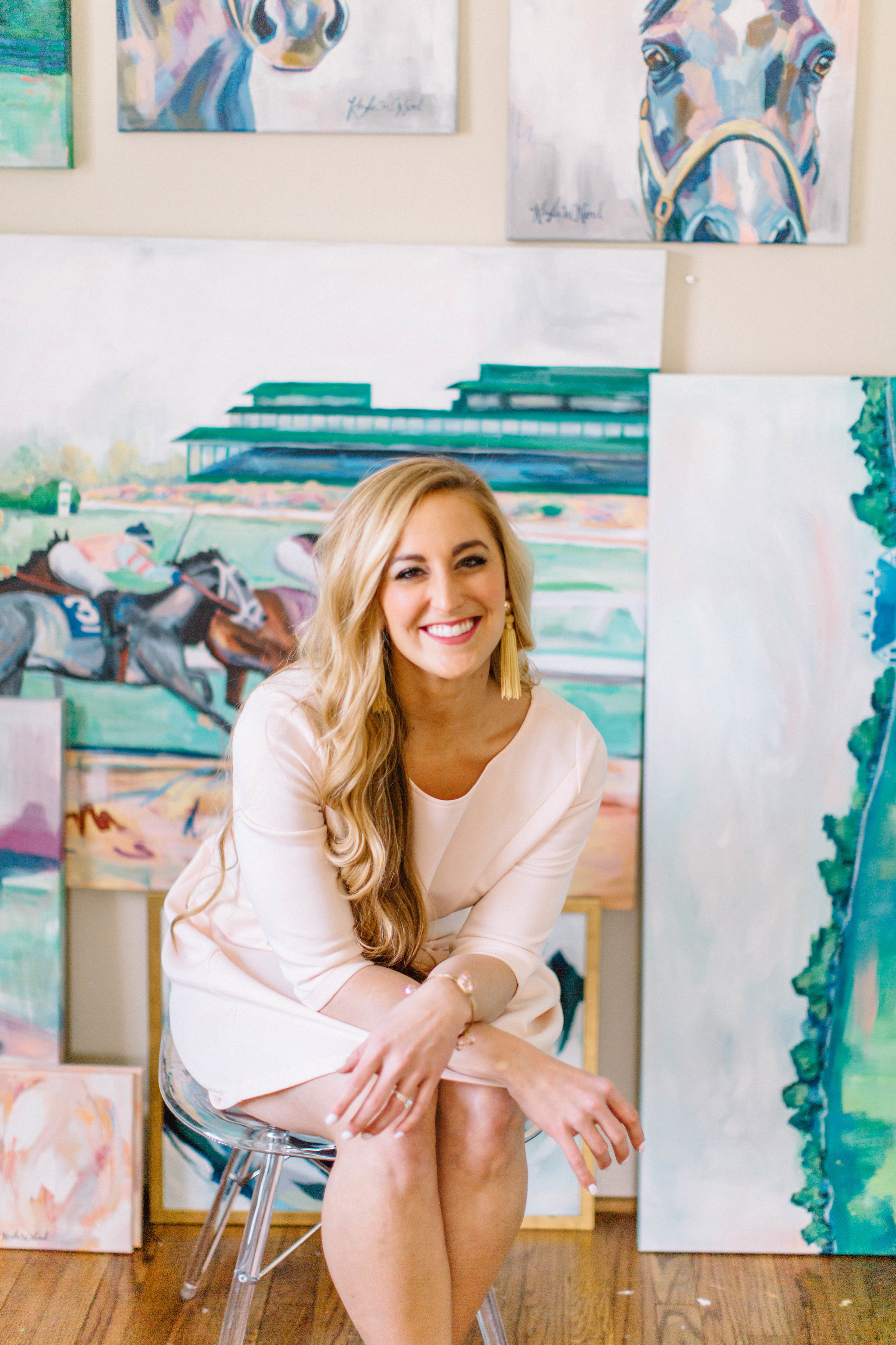 Well, HELLO!  I'm Kayla Weber Nord and I am an artist and event coordinator from Lexington, Kentucky! I paint Kentucky things, I love to decorate, I travel whenever I can, and I love taking pictures! I have always taken WAYYY too many, and kept journals (I don't ever remember anything if I don't)... so this is my place to put everything and share my experiences with you all! This blog is a collection of my life and everything in between. Follow along if you would like!