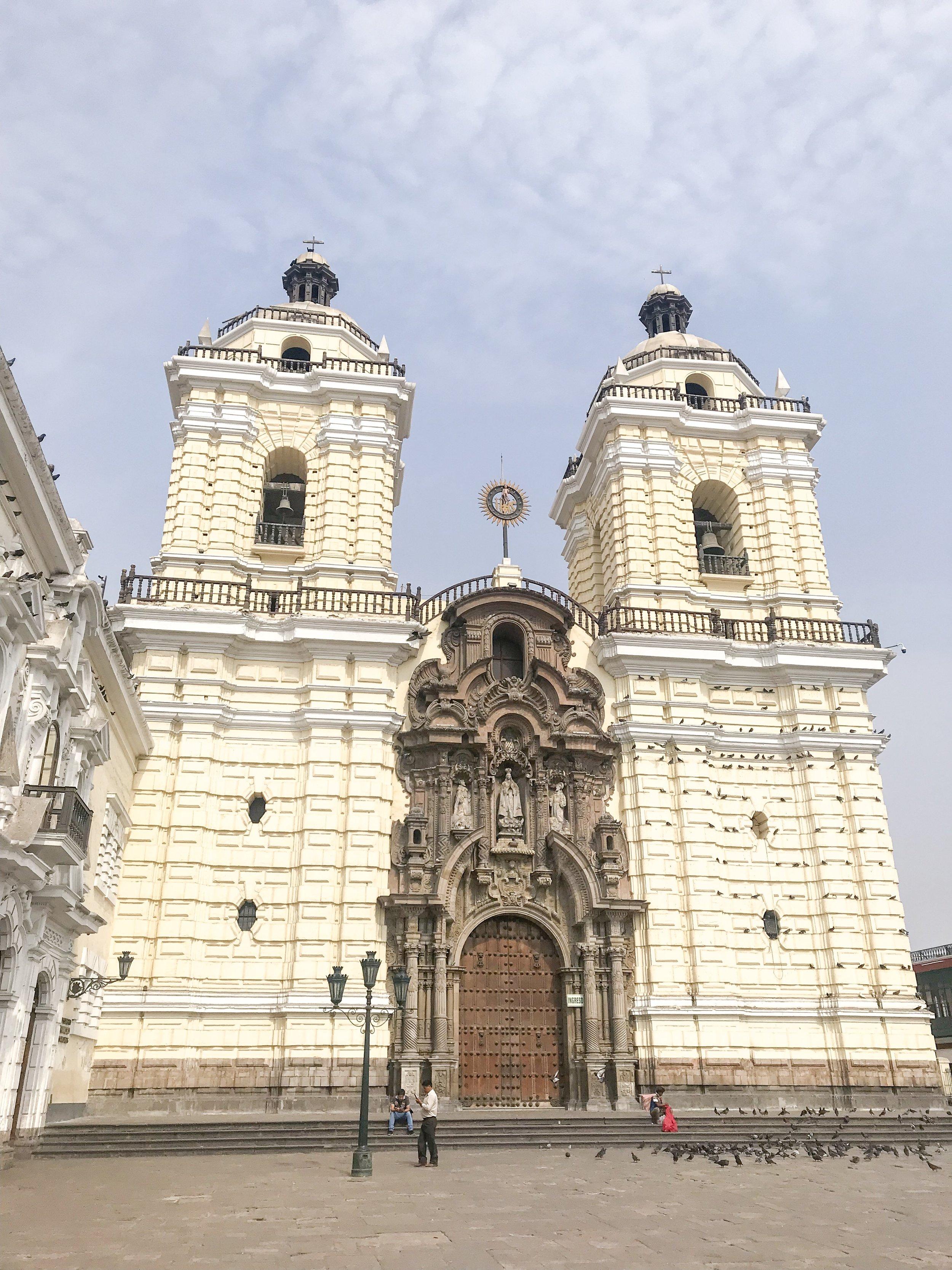 Saint Francis Monastery.