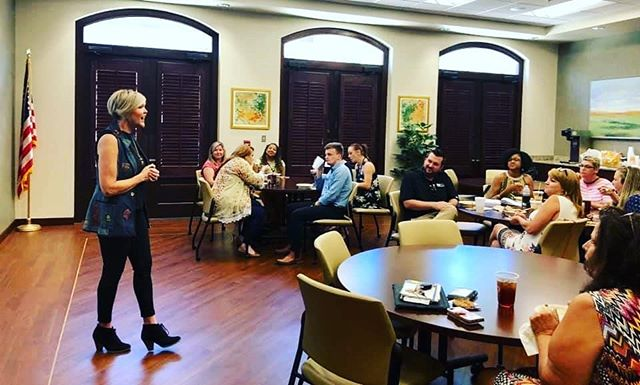 Pine Belt had a BLAST at the Social Media 101 Lunch and Learn! We appreciate Danielle Pietz with @rentpath for being an awesome energetic speaker! #WeAreMAA #LearnWithMAA