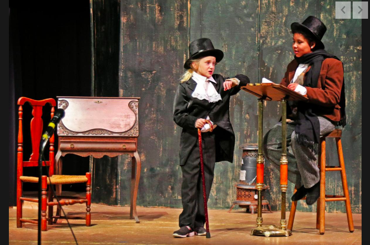 Scrooge has a role in revival of COMO Theatre Kids