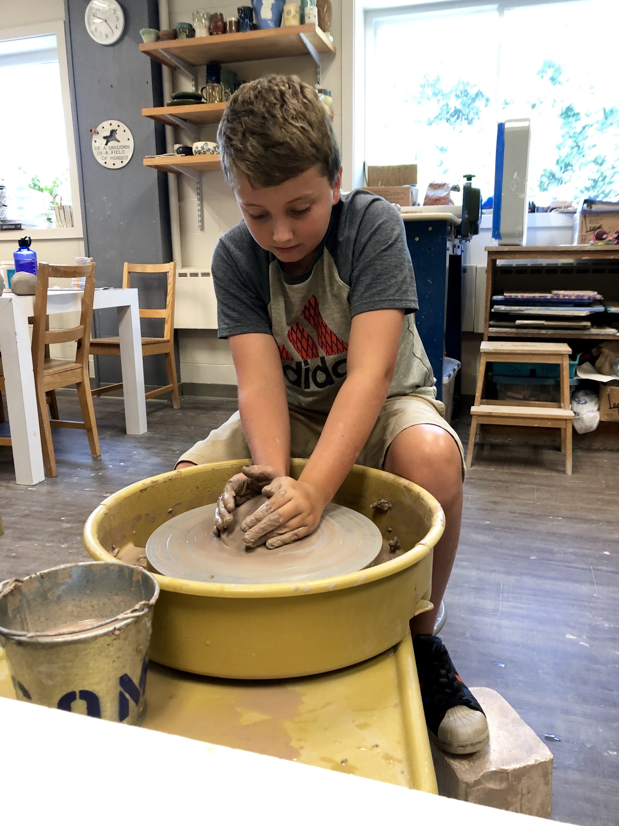 Summer Youth Pottery -
