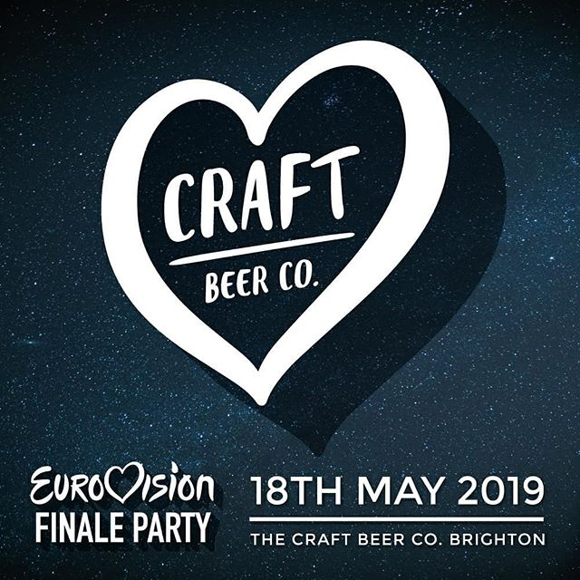 Experience the @eurovision finale in all its glory at @craftbeercobn1 with over 27 beers on tap and over 200 bottles and cans to choose from! 🎤🍻