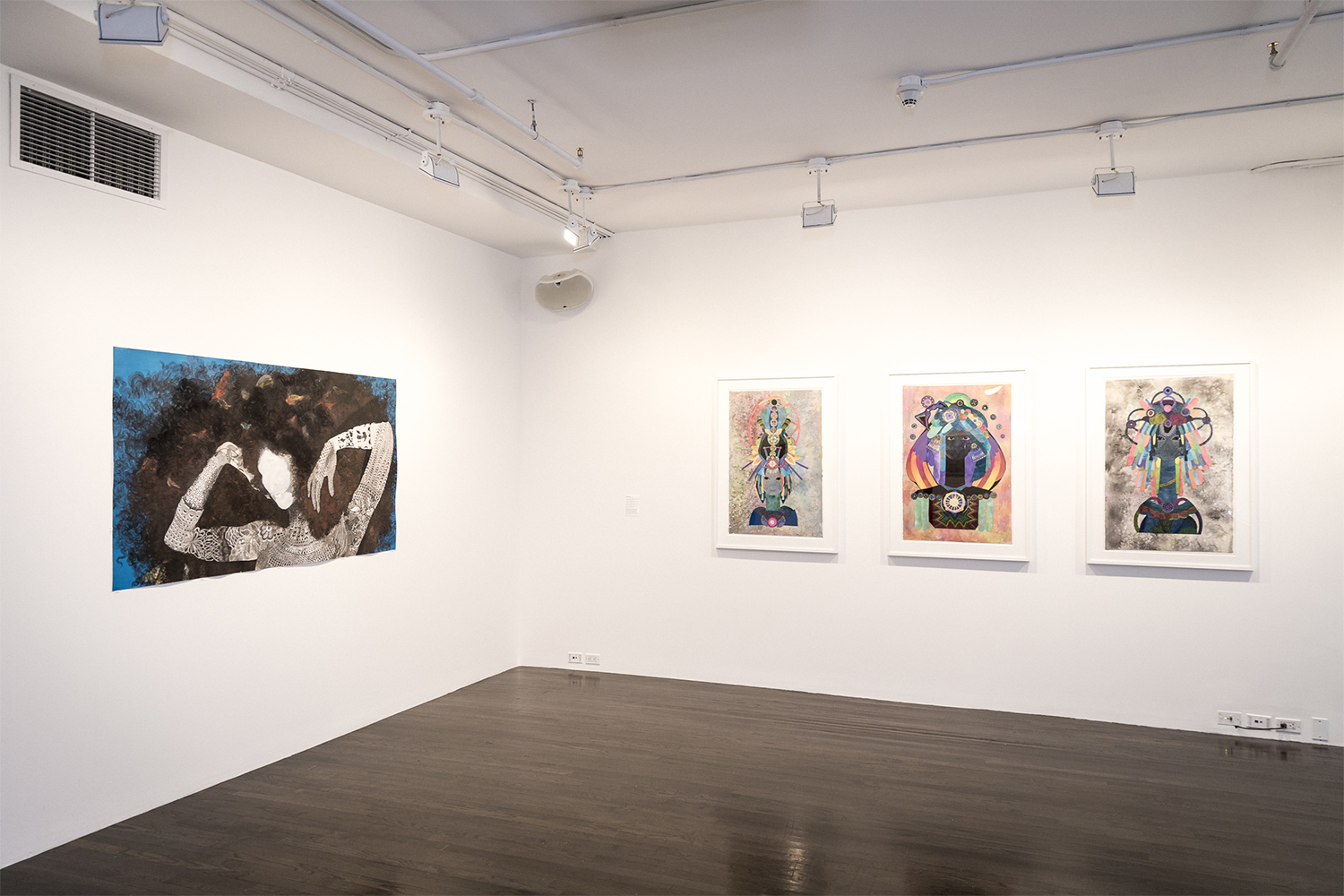 Between History and the Body  Installation shot from exhibition Eight Floor Gallery Photo Credit: Jean Vong 2015