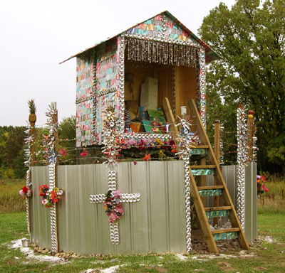 Terra de Lixo/The Land of Garbage  Outdoor Sculpture 2005