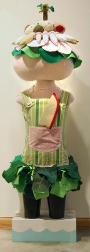 Tomato Girl  Sculpture 2005