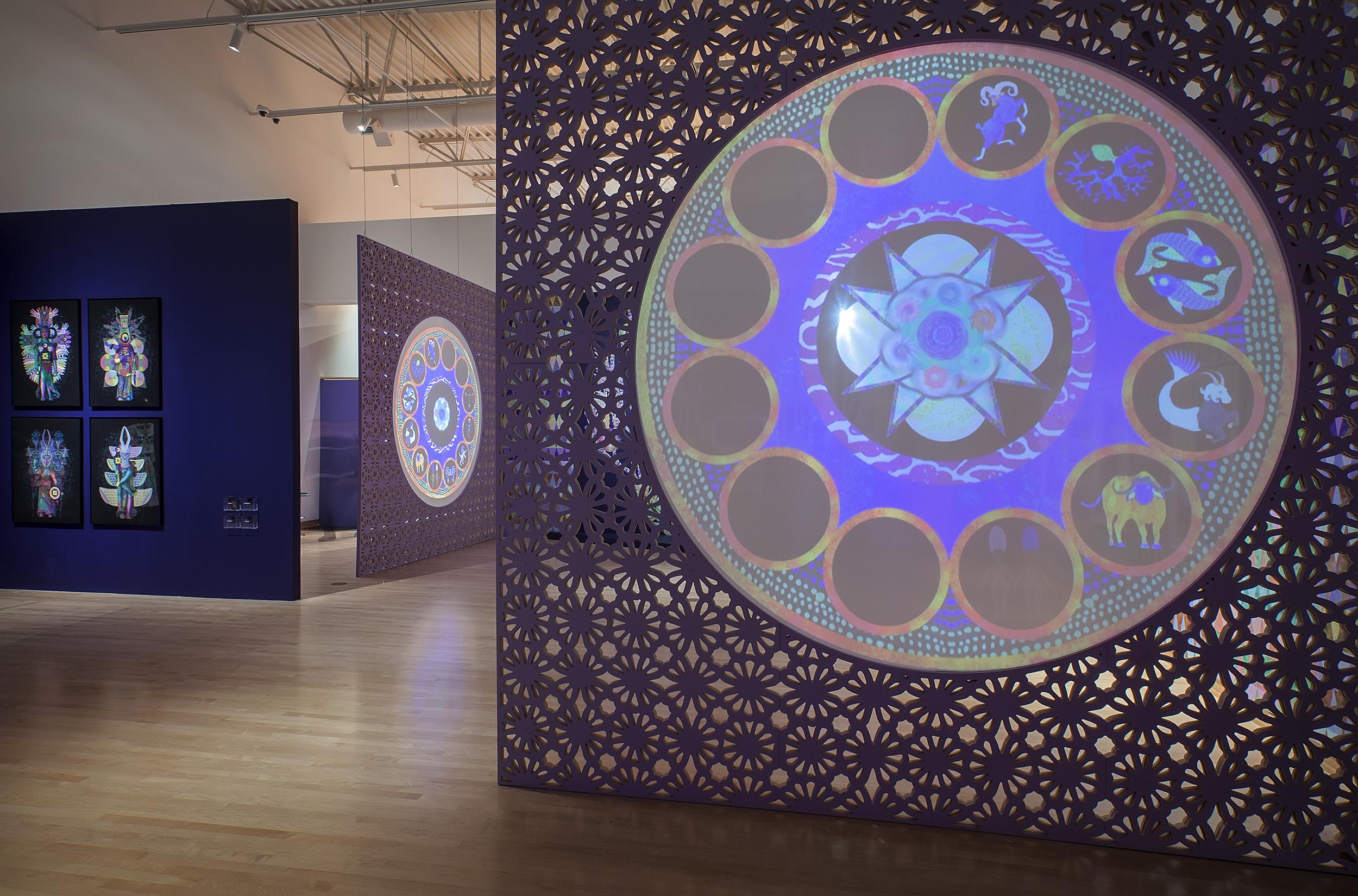 Saya Woolfalk: Visionary Reality Outpost  Installation View John Michael Kohler Arts Center, Sheboygan, WI 2019