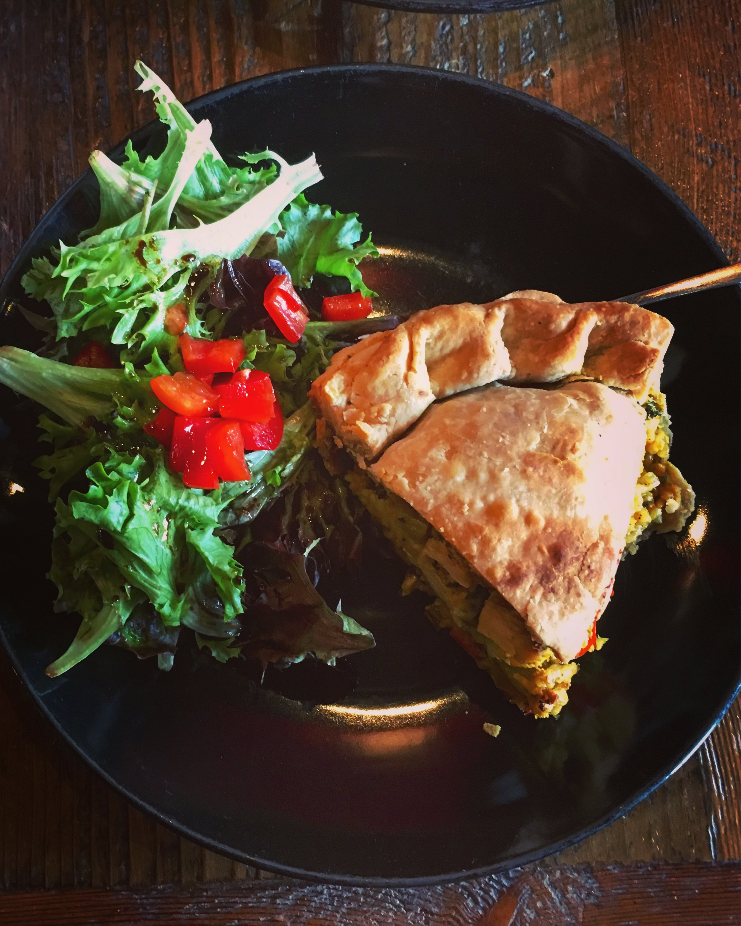 Curry Tofu Pie eaten at Dangerously Delicious Pies DC