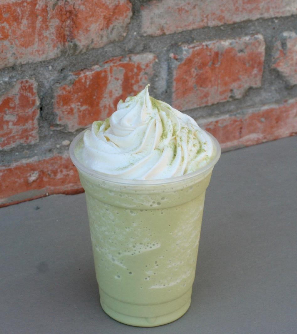 Green Tea Matcha Frappe