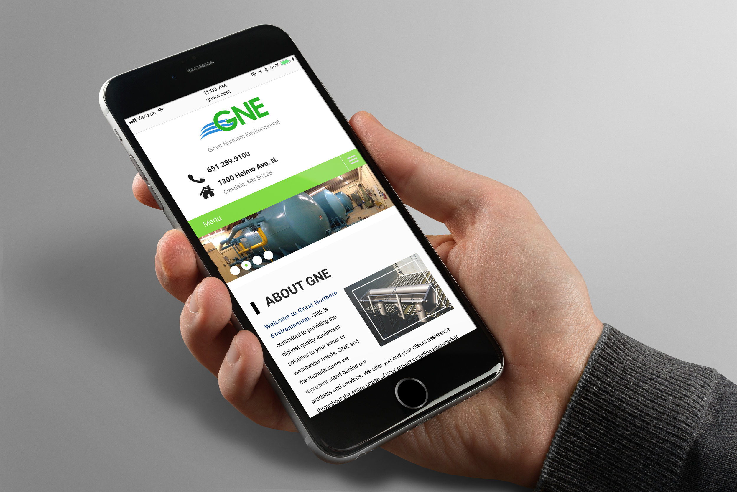 WEBSITE DESIGN + OPTIMIZATIONS - GREAT NORTHERN ENVIRONMENTAL