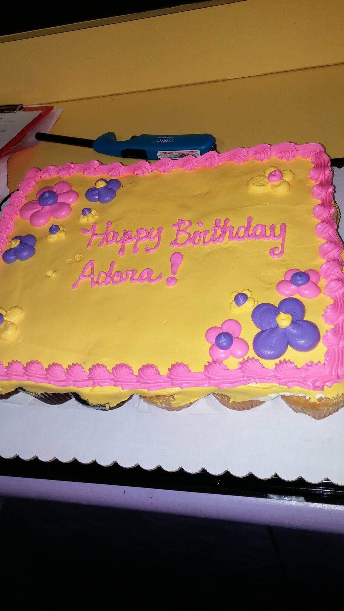 Sam's Club Cupcake Cake