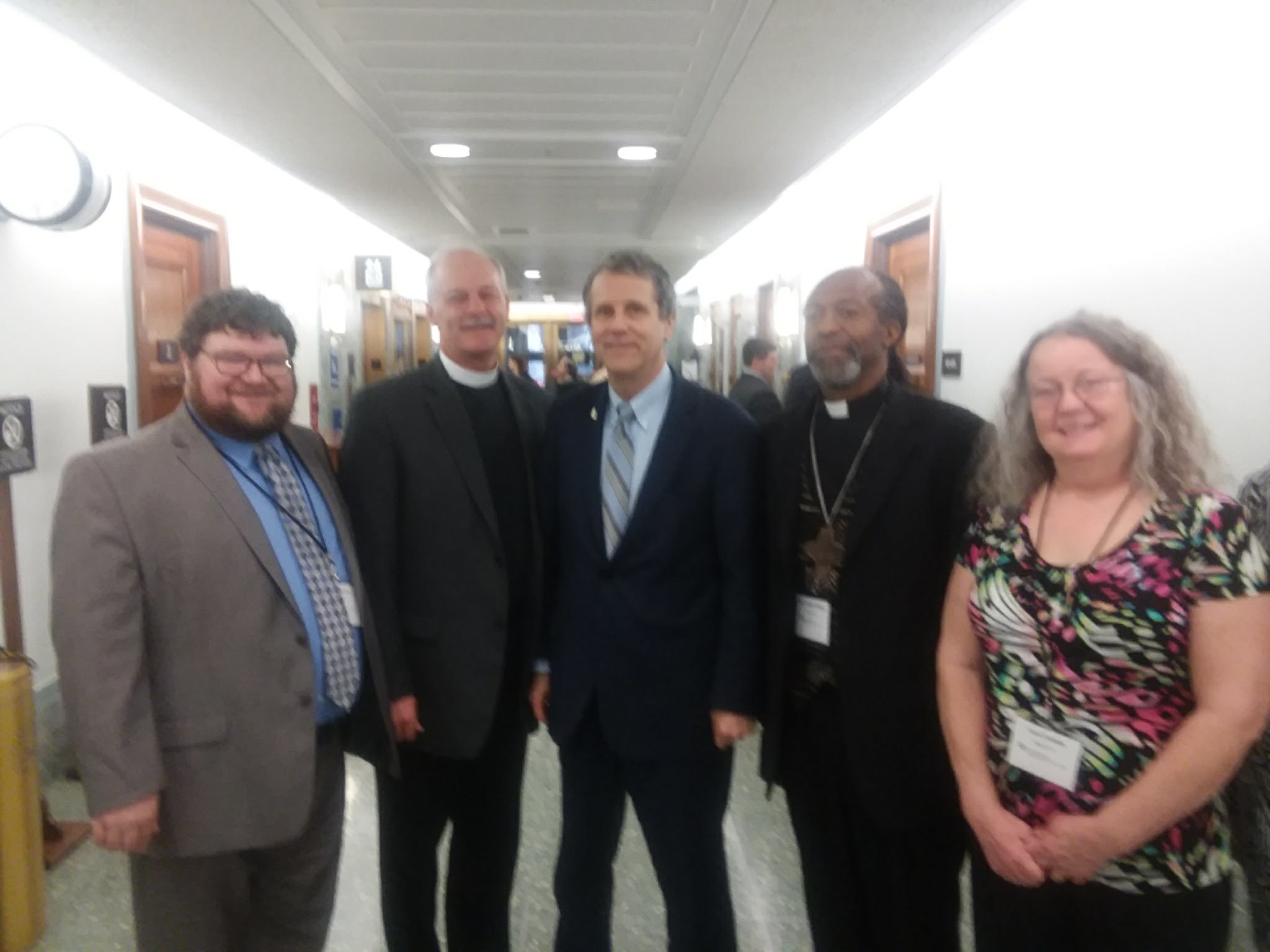 Special thanks to Senator Sherrod Brown (Lutheran-Ohio) for addressing our gathering and thanking us for our advocacy on the farm bill.