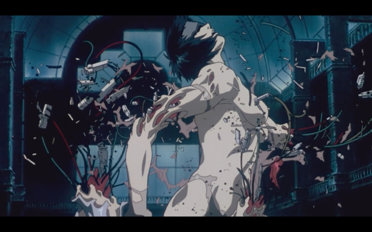 Ghost In The Shell Body Anxiety