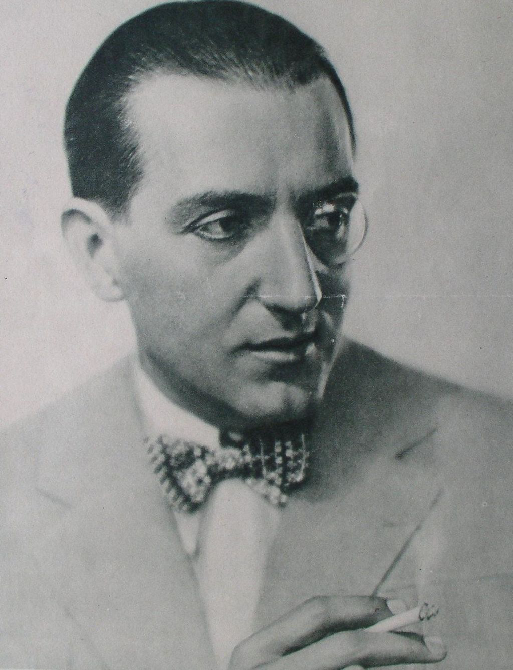 Fritz Lang, when his thing was a monocle, before his thing became an eye patch.