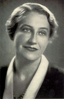 Thea von Harbou who, in a story that couldn't fit here,   might have helped Fritz Lang murder his first wife.