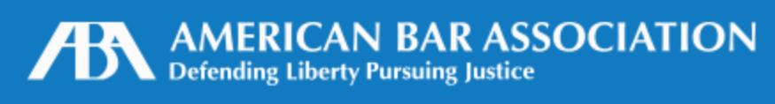 American Bar Association, April 17, 2018.