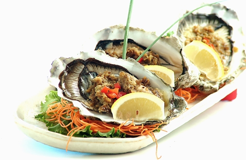 Charbroiled West Coast Oyster