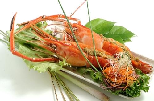 Cho Lon Grilled Jumbo Prawns
