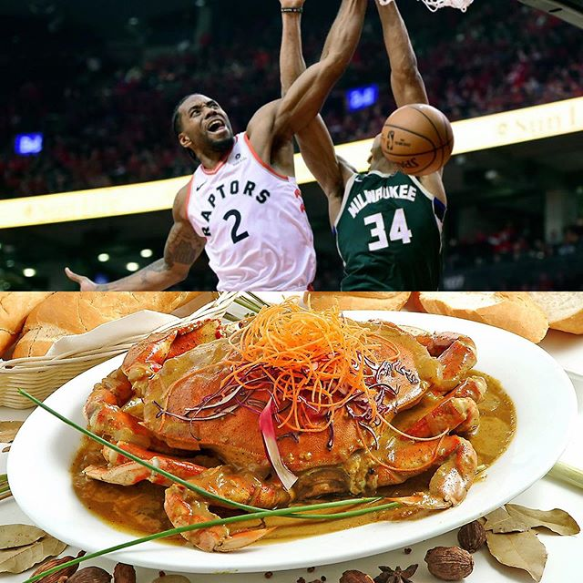 Kawhi and the squad (Drizzy included) played their part in evening up the series, and now it's our turn to step up. ✋🏾, when that inevitable Curry Crab craving hits you, let us know cause you and your family dine here at Saigon Star free for life! 🦀 . . . . . . . . . . . . . @kawineanddine @blogto @narcitycanada . . Credits to AP for picture