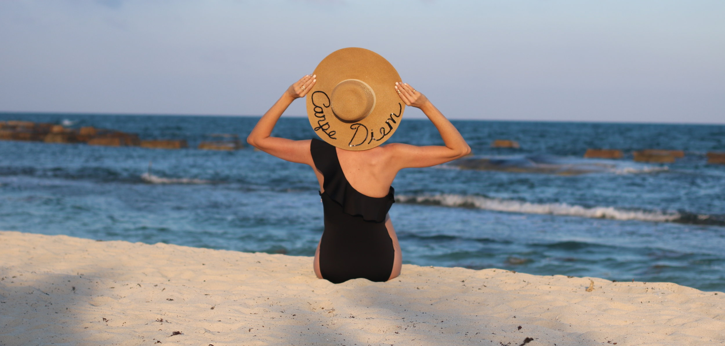 with-love-and-style-fashion-blog-rachel-white-beach-black-swimsuit-straw-hat.jpg