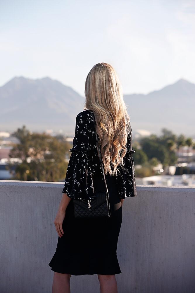 cece-black-flared-skirt-ditsy-bell-sleeve-top.jpg