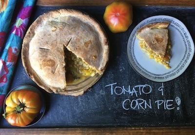 Tomato&CornPie