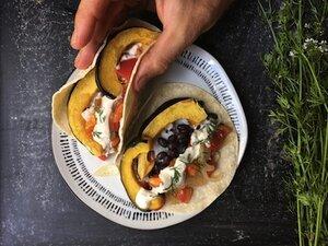 Acorn Squash Tacos