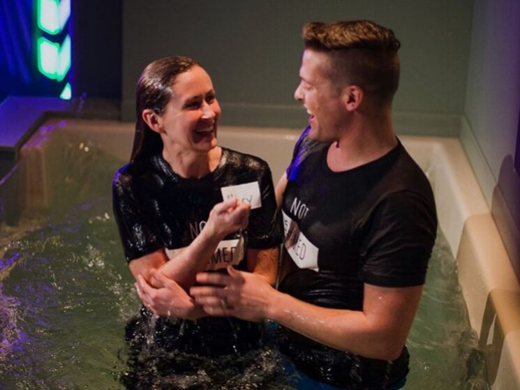 Get Baptized - Learn More >