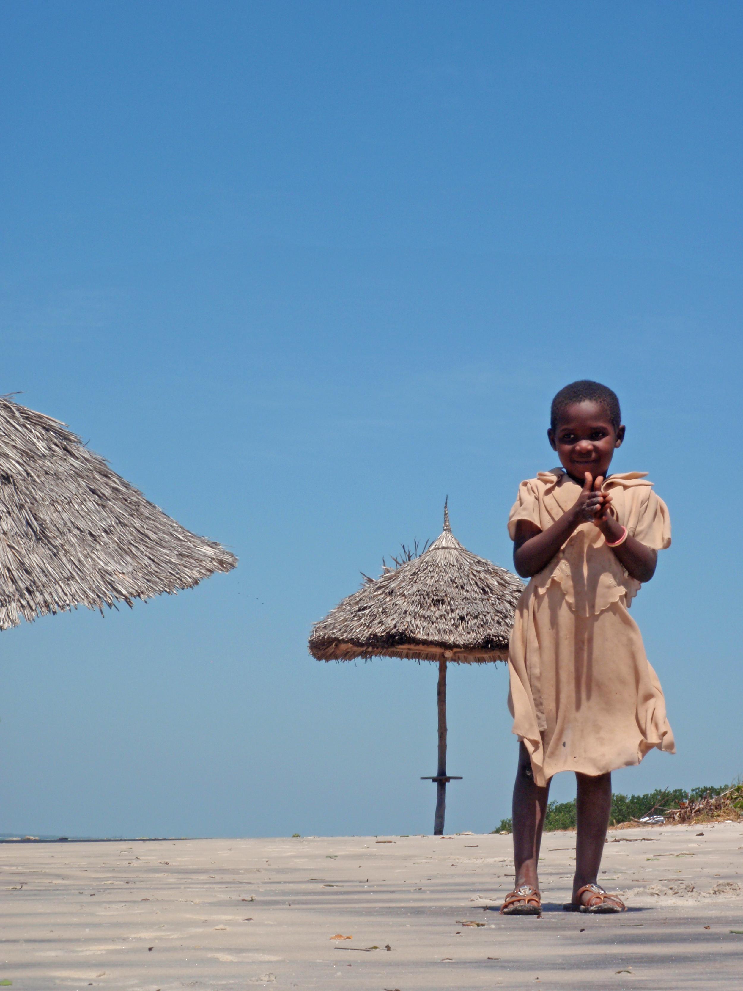 Maggie.  Mafia Island, Tanzania