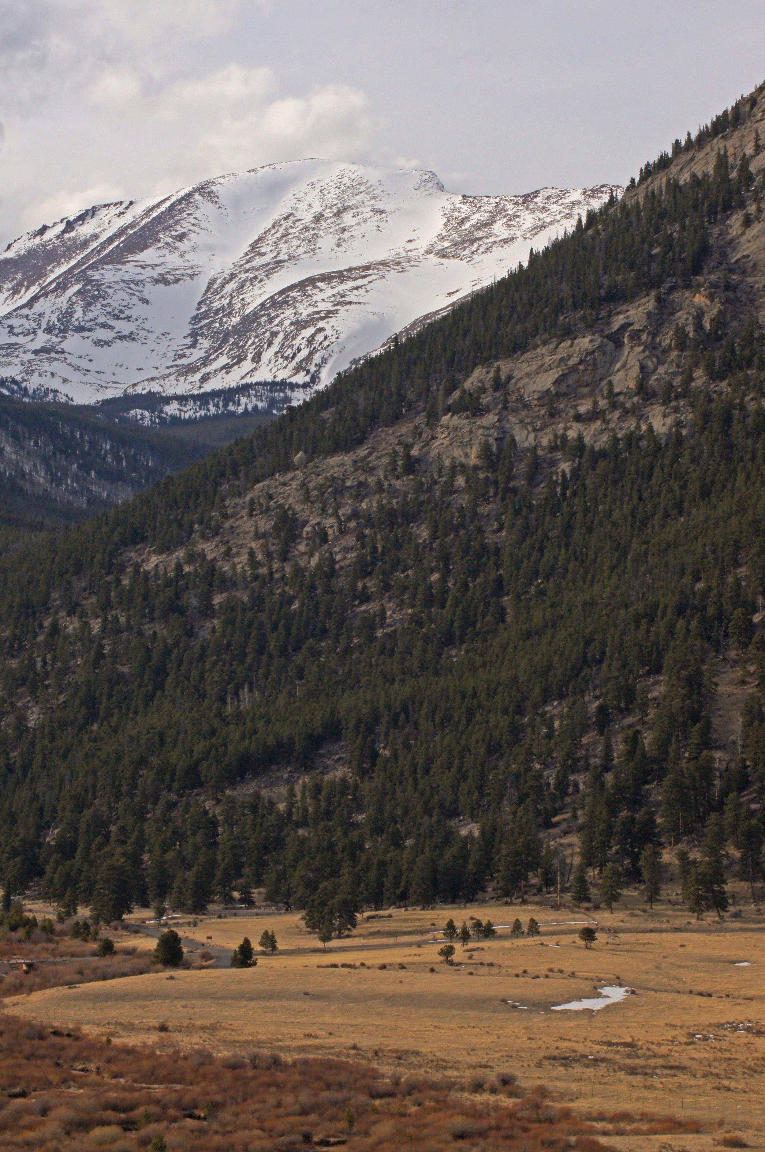 Rocky Mountain.  Rocky Mountain National Park, Colorado, USA