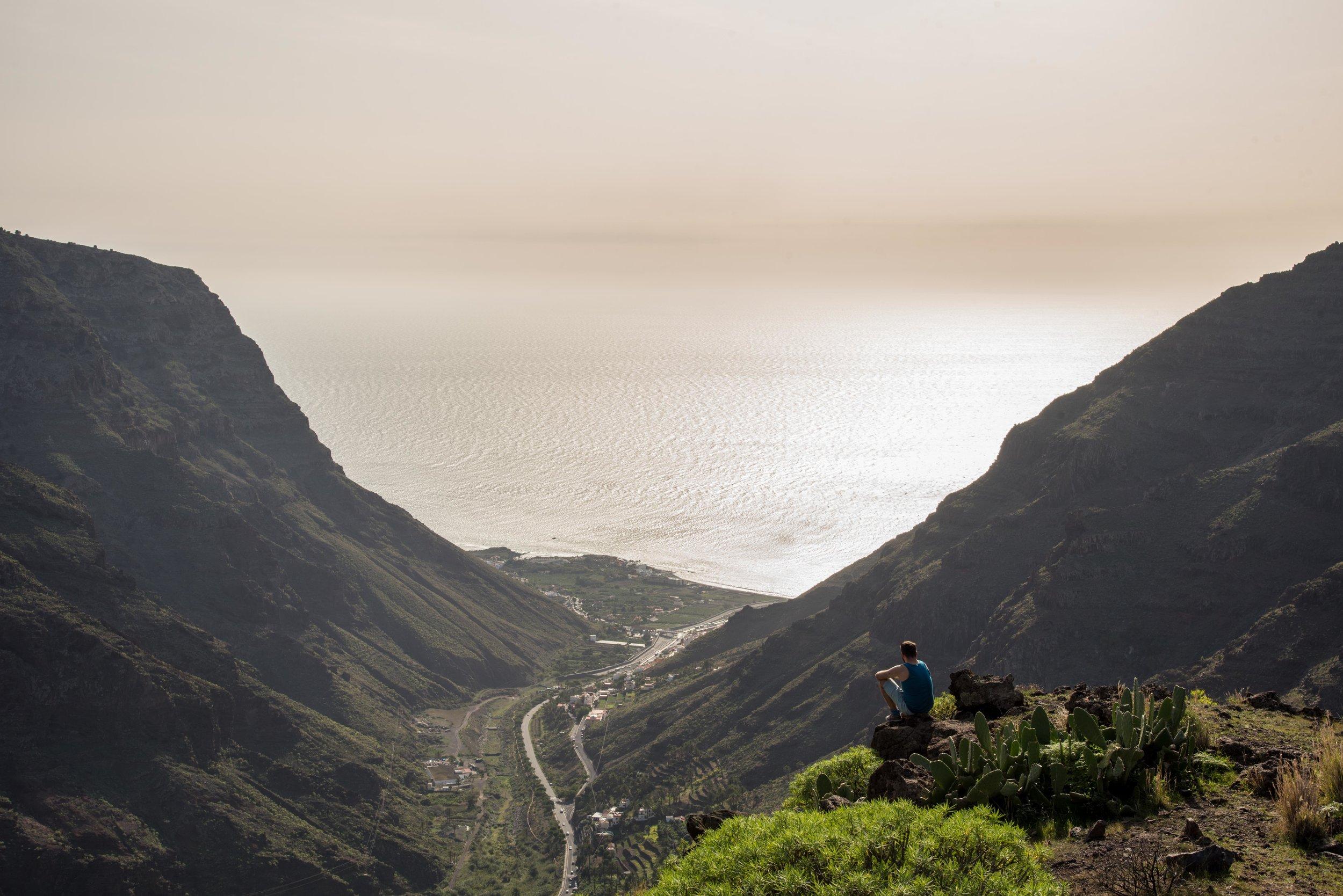 Valle Gran Rey  . La Gomera, Canary islands