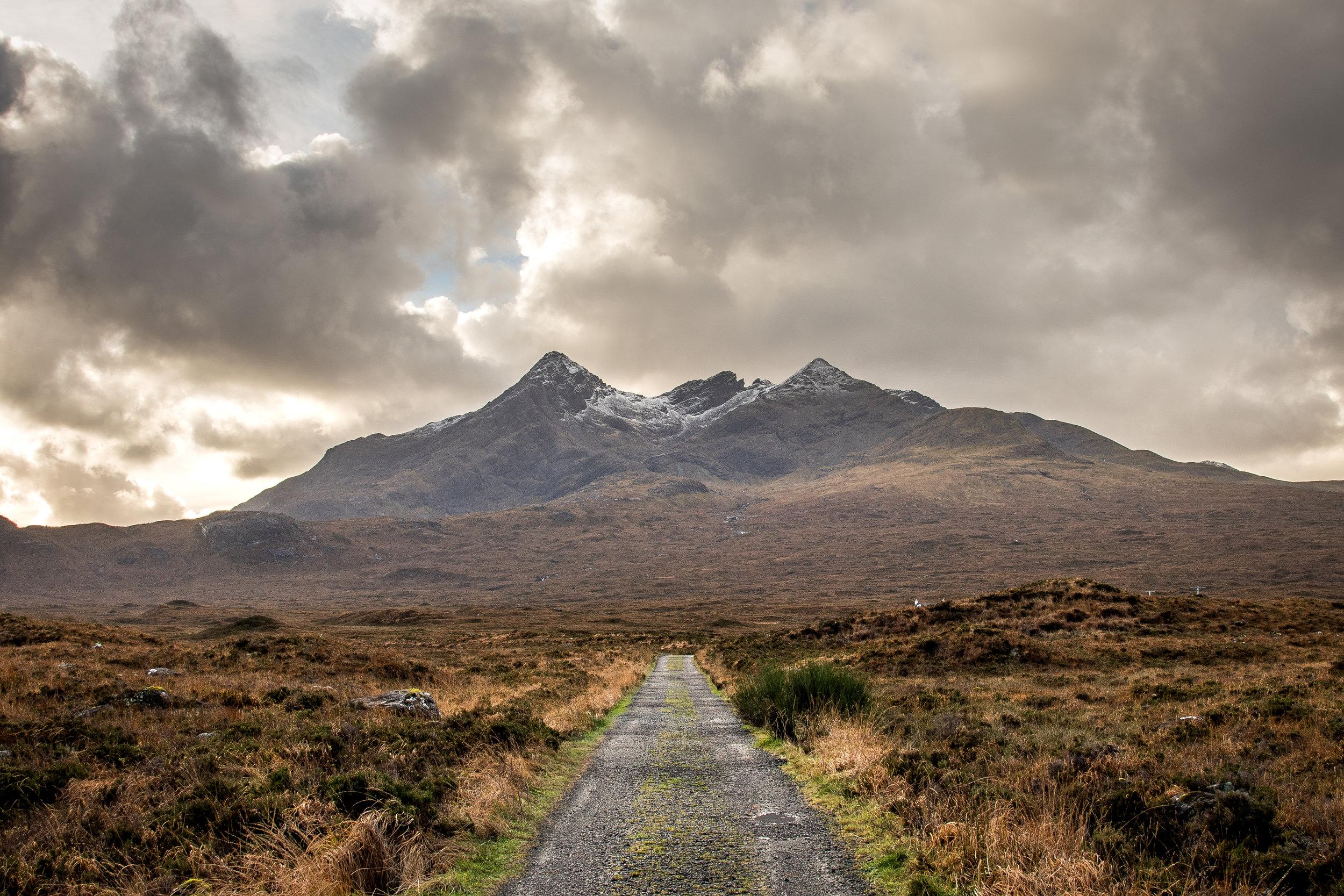 The Cuillin.   Isle of Skye, Scotland