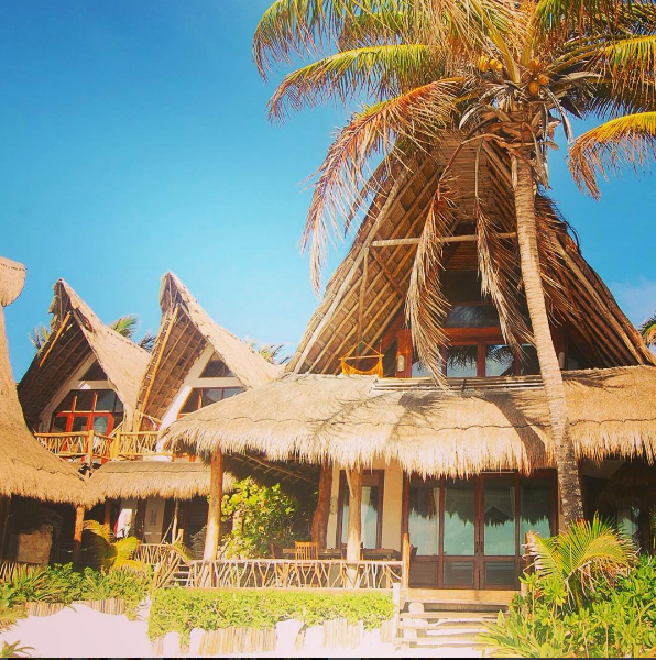 The idyllic Ahau Tulum eco-lodge Photo credit: Ahau Tulum