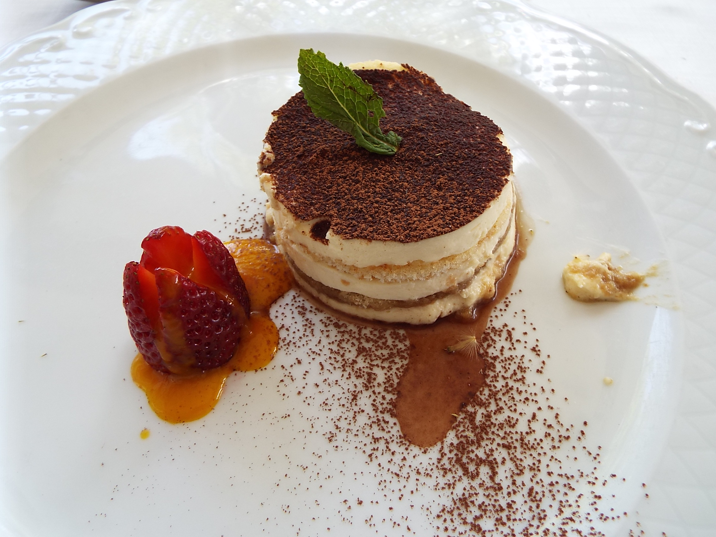Tiramisu in Madrid