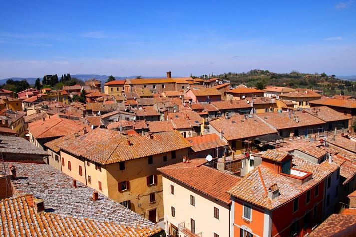 Panoramic of Chiusi, Italy  Photo credit:  Wikipedia