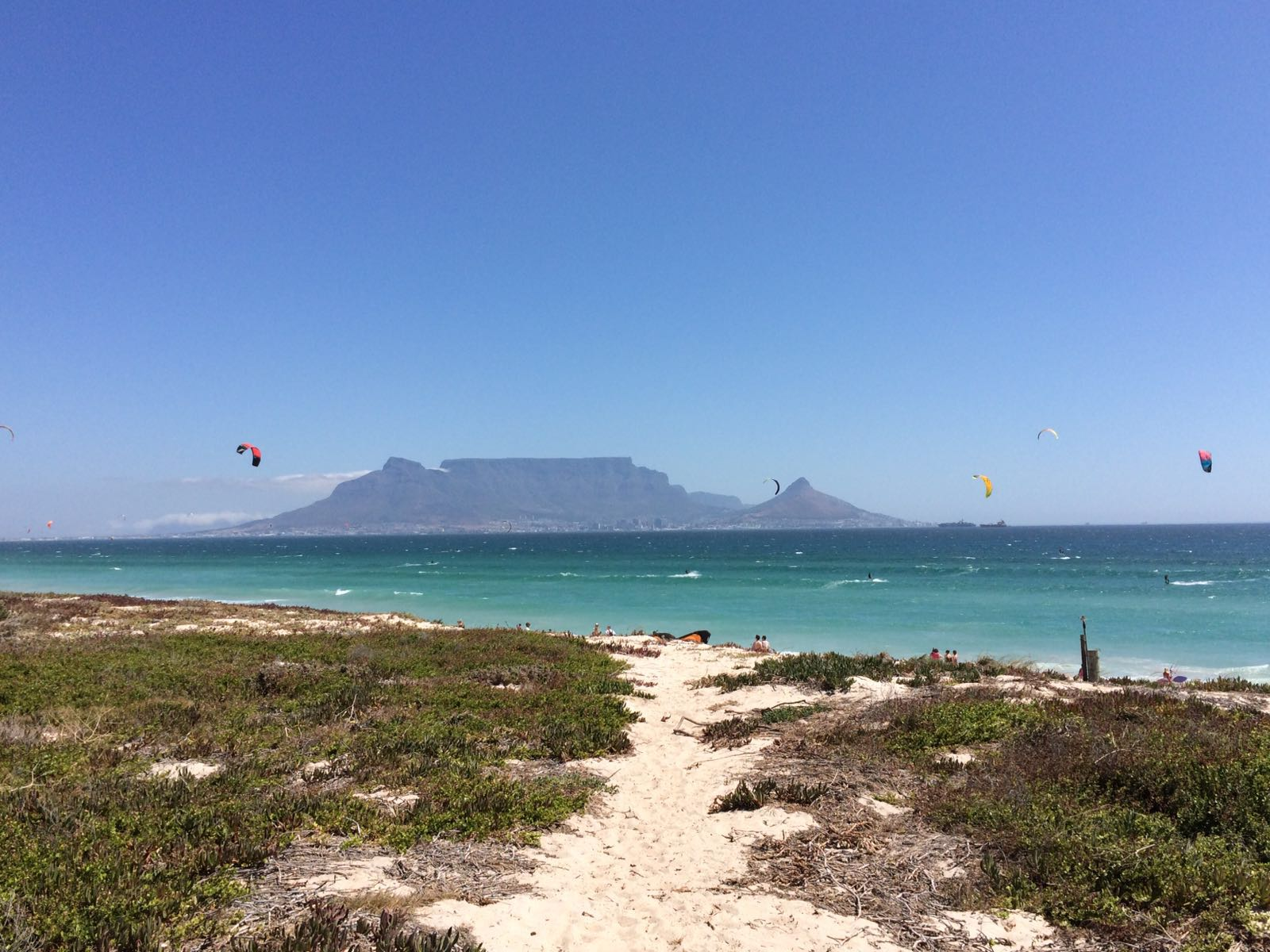View of Table Mountain from Blouberg, South Africa