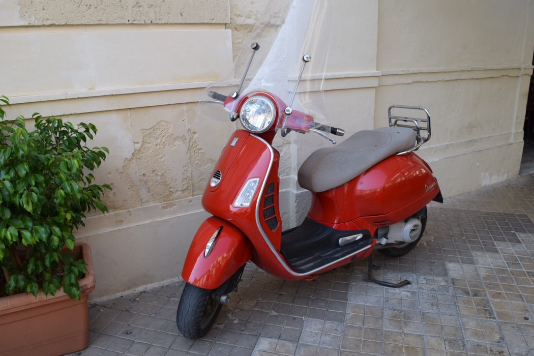 Classic Italian mode of travel