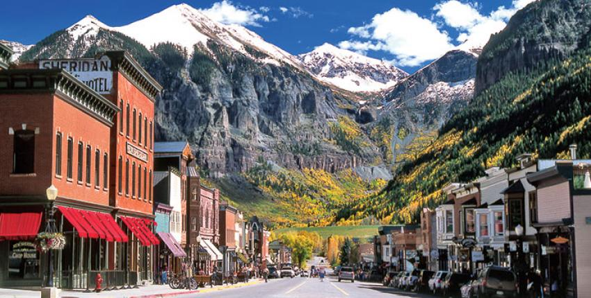 Downtown Telluride, Colorado  Photo Credit: www.ColoradoInfo.com