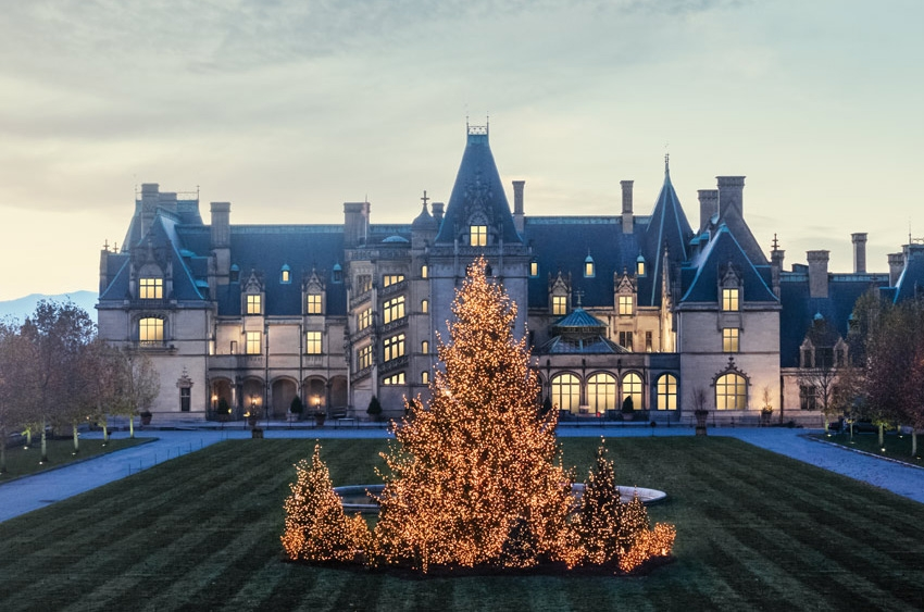 Christmas at The Biltmore  Photo Credit: Biltmore Estate