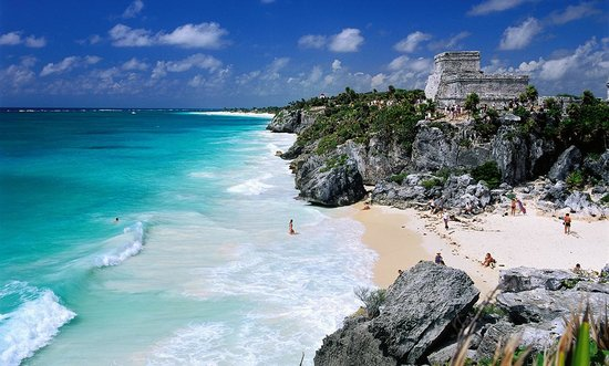Tulum Beaches with Mayan ruins  Photo credit: Tripadvisor.com