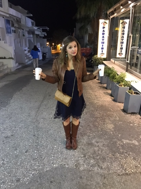 """My """"coffee"""" to go that may have contributed to a tumble in Greece"""