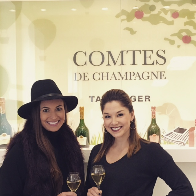 The last champagne that we enjoyed in Champagne