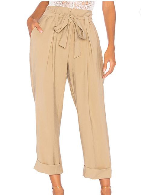 JOA Paper Bag Pants