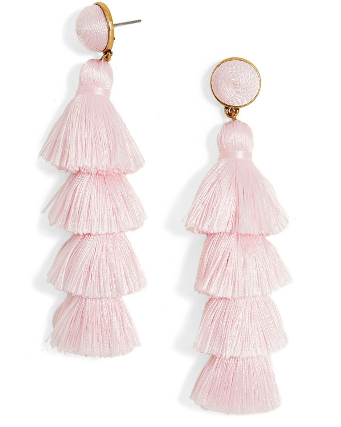 Gabriela Tassel Fringe Earrings