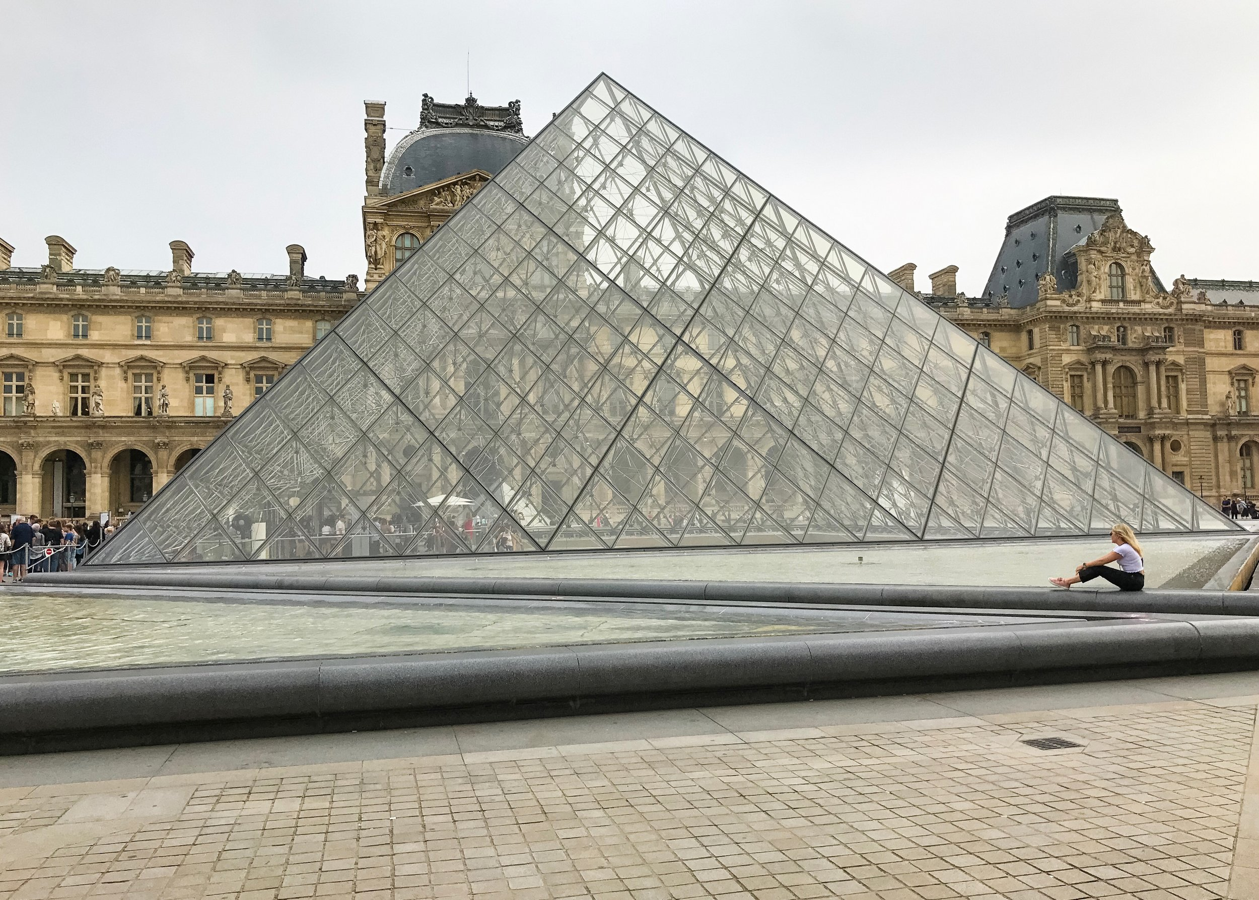 The Louvre... even more beautiful in person than I imagined
