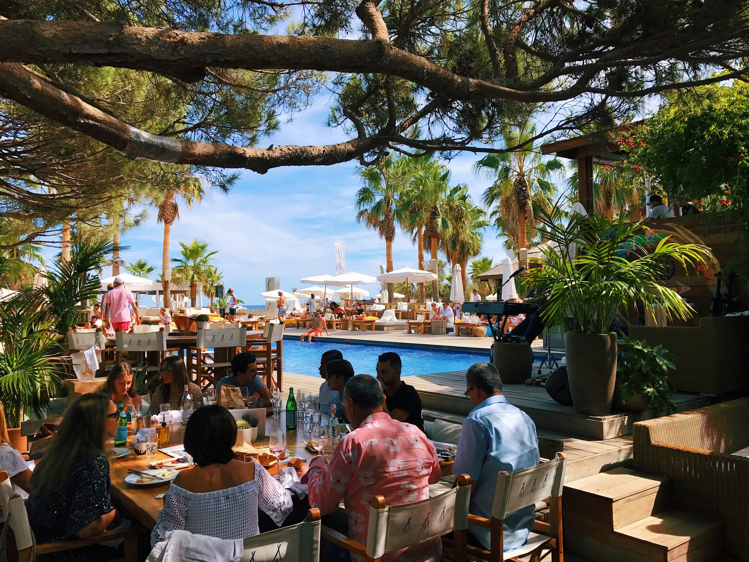 Serious brunch goals at Nikki Beach St Tropez