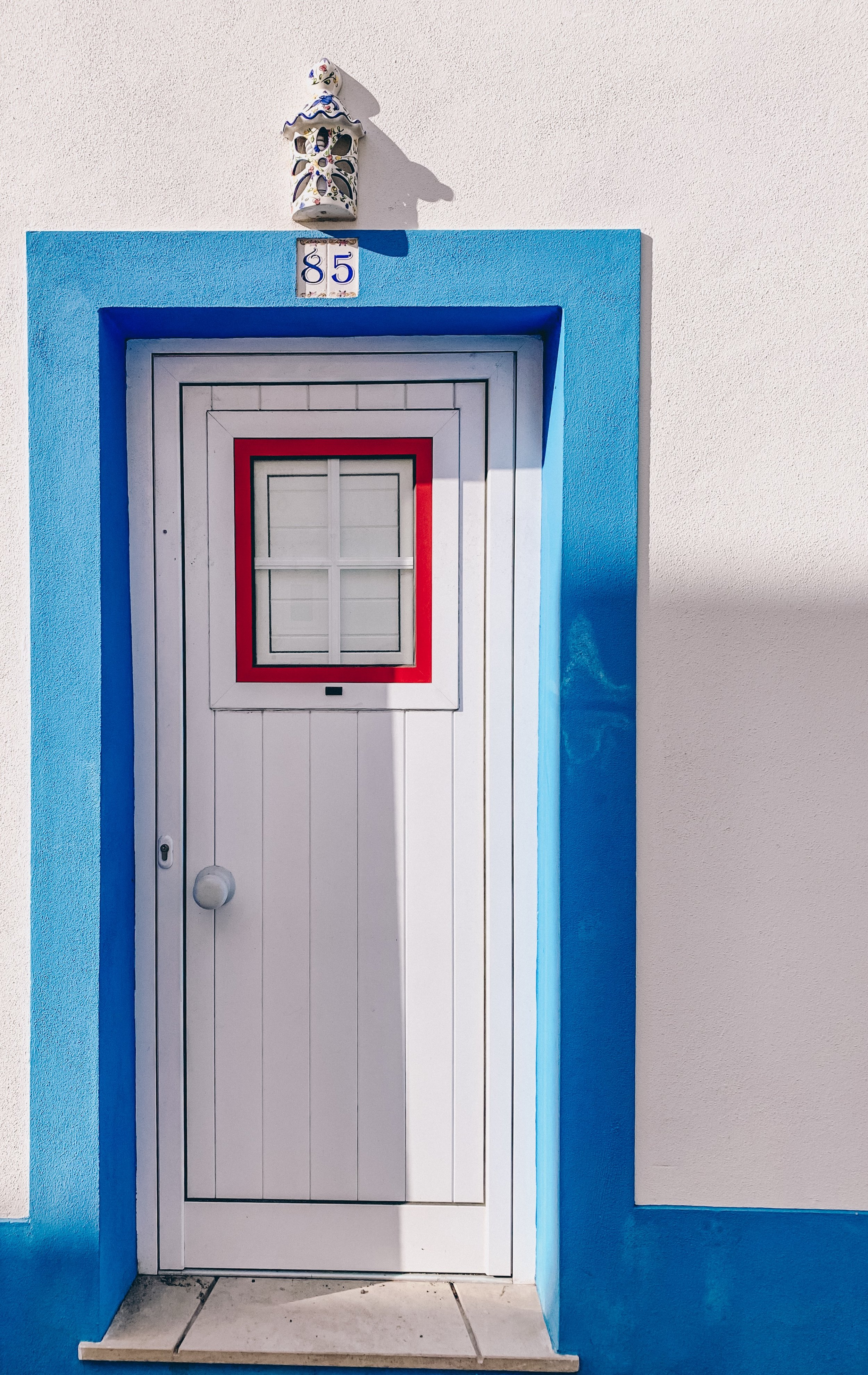 The colorful streets of Albufeira