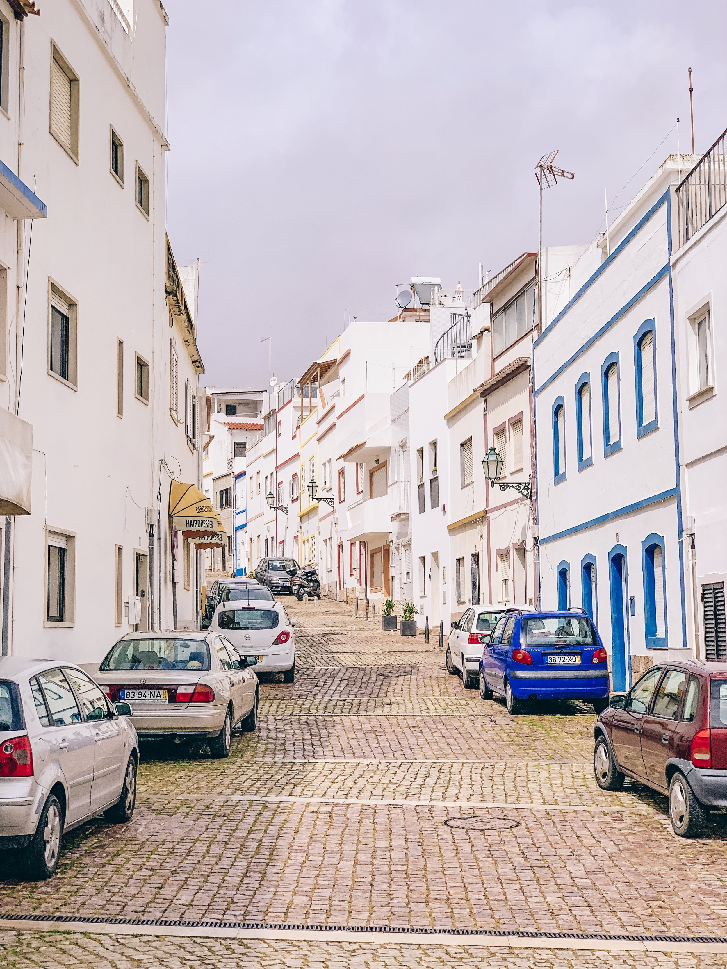 The streets of Albufeira