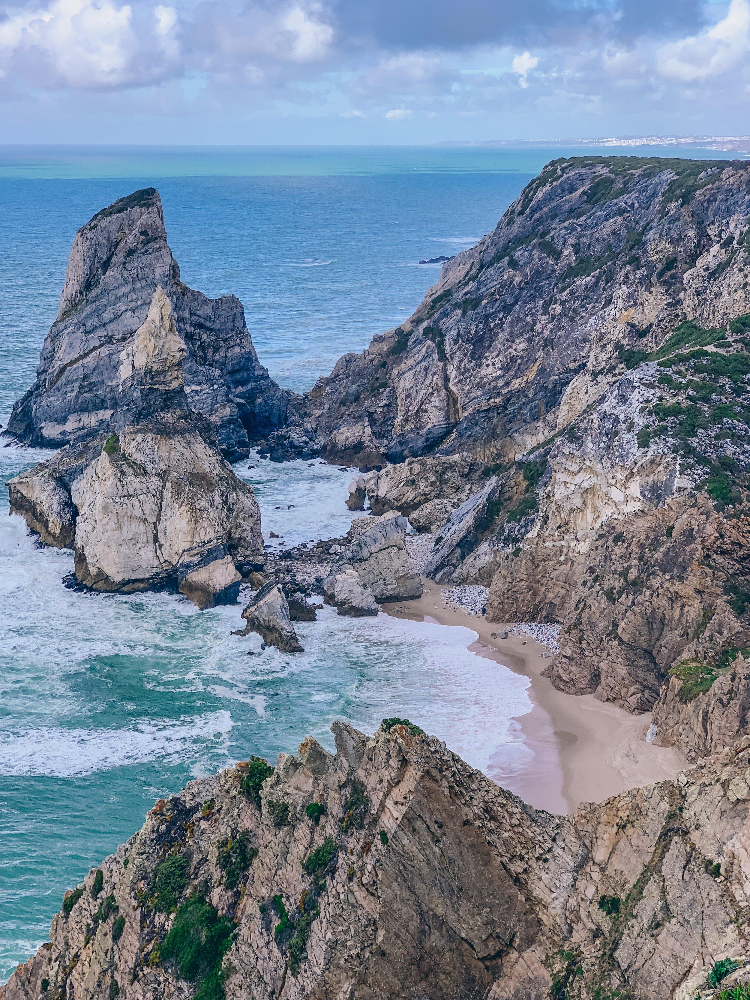 Ursa Beach, a hidden gem near Cabo da Roca